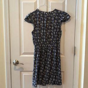 Modcloth Dresses - Blue Floral Dress